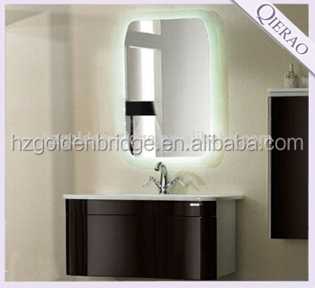 half small round and curved wall mounted PVC bathroom vanity 050603