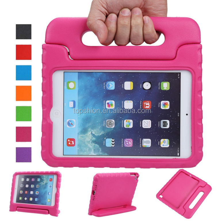 New For Apple iPad Mini 4 Shockproof Case Light Weight Kids Case Super Protective Cover Handle Stand EVA Case for Kids