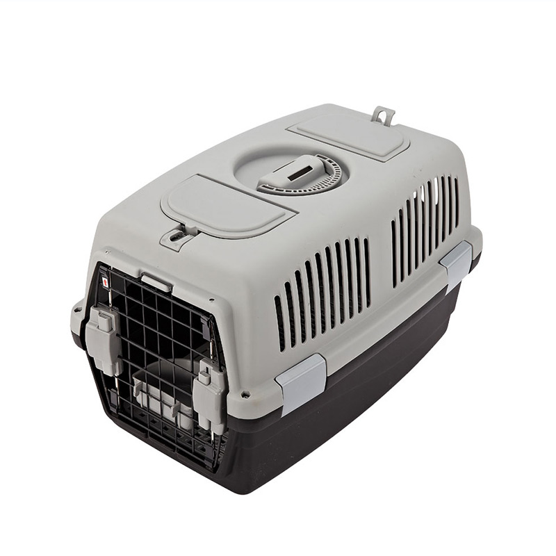 Portable Large Plastic Transport Dog Carrier Box Pet Travel Carrier Cages