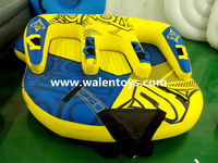 inflatable towable water tube for ski water