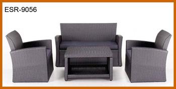 Set Sofa Rotan Sintetis Taman