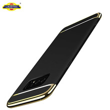 2017 newest 3 in 1 electroplate hard pc back case for samsung galaxy note 8