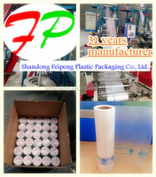 China manufacture plastic produce bags roll for supermaket shopping