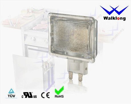 G9 Square Lens High Temperature Halogen Oven Lamp