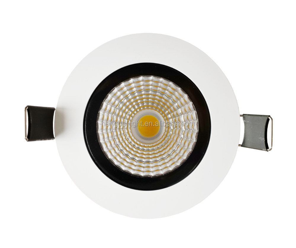 12w18w 20w 30w recessed dimmable cob led downlight