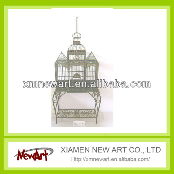 Metal birdcage elegant bird cages