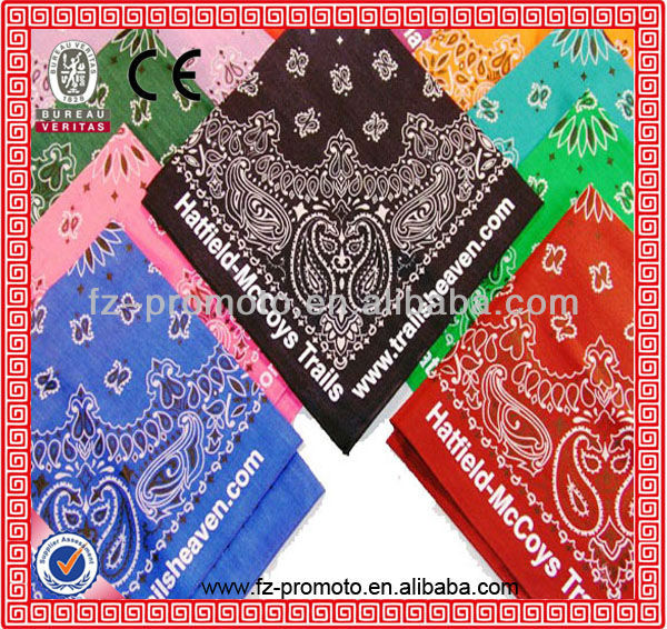 beautiful bandannas in cotton material