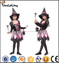 2017 cute baby girl kids cosplay harry potter witch costume witch dance costume