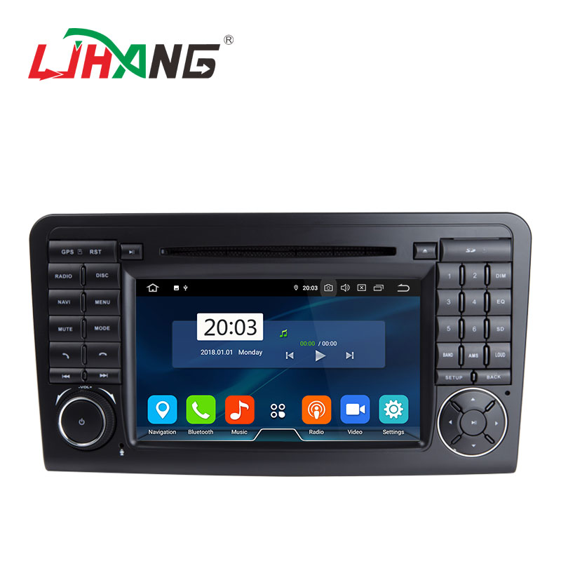 LJHANG 7inch Android 9.0 4+32G car radio <strong>dvd</strong> player for Mercedes Benz ML350 ML320 <strong>W164</strong>