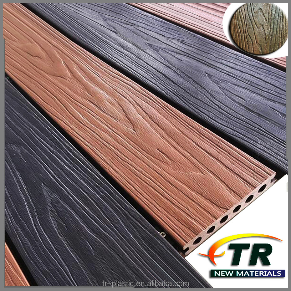 Anti UV Durable Wrapped Composite Decking