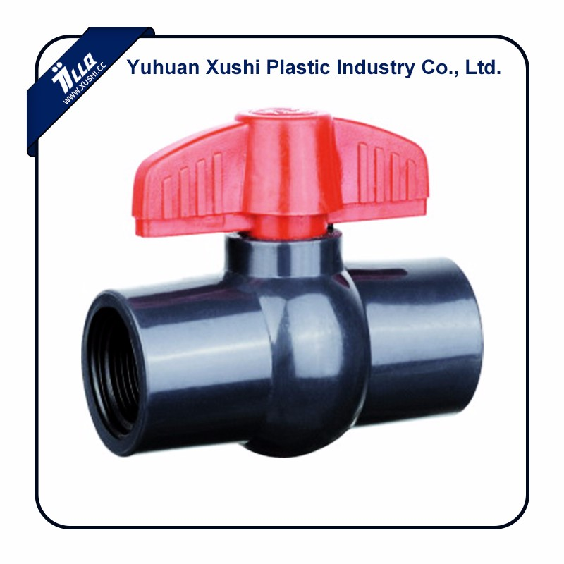 Plastic gray colour pakistan india bangladesh sri lanka valve compact type PVC products