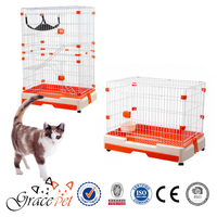 Cat indoor large cat show cage