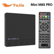 M8s Pro Android 7.1 DDR4 3G 32G TV Box Amlogic S912 Octa Core 2.4G/5G Dual Wifi 1000M LAN 4K VP10 HDR10 MiniM8SPRO media player