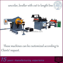 uncoiler, leveller with cut to length line-YOUYI Hardware Machinery
