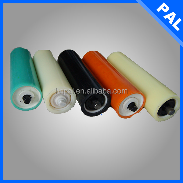Dia 152 mm low Friction coefficient hard rubber roller