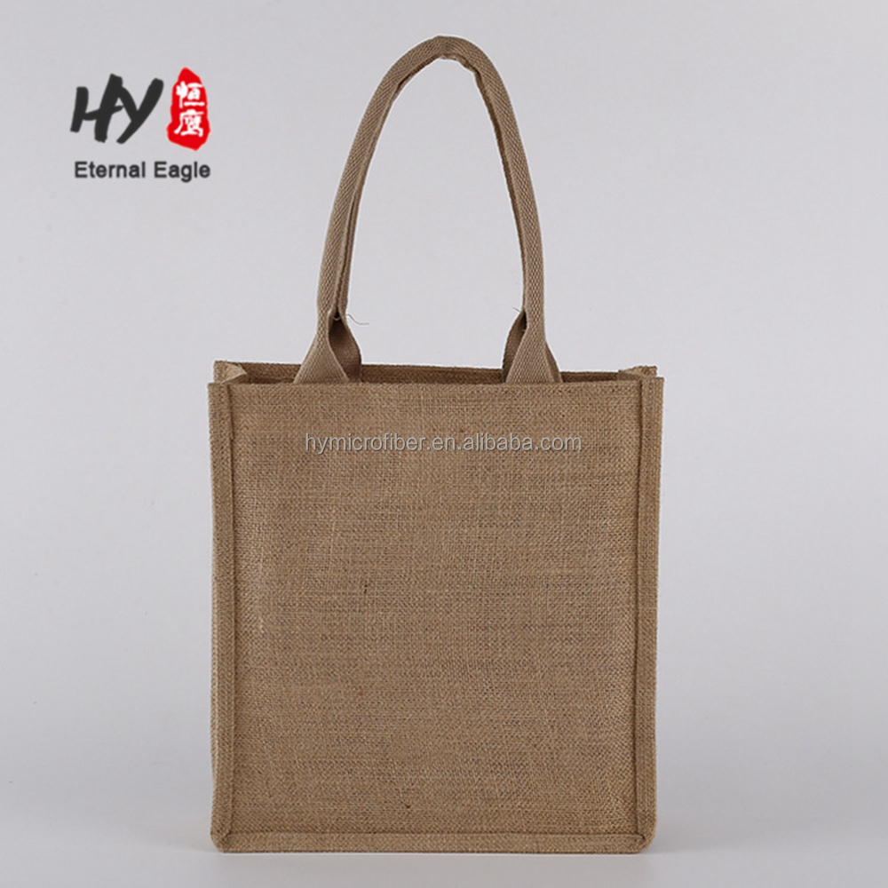 New gift universal blank hemp jute cloth shopping <strong>bags</strong>