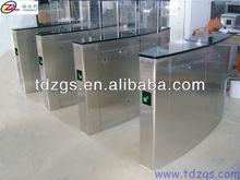 Bridge type circular bead automatic sliding turnstile gate