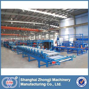 EPS Sandwich Panel tin can making machine production line with CE