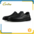 2016 top quality black casual leather loafer design fashion shoe