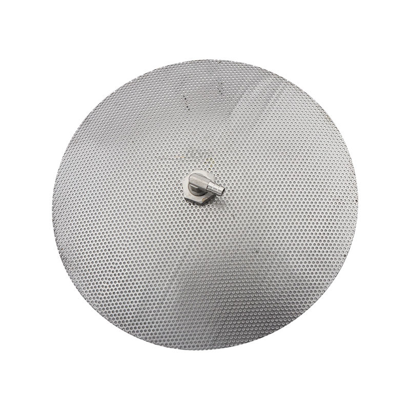 "Stainless Steel Domed False Bottom for Homebrew Pot 12"" Converts Into a Mash Tun"