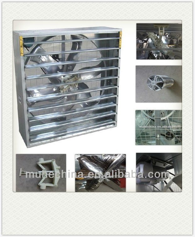 Luxury Rectangular Industrial Exhaust Fan (Belt driven)
