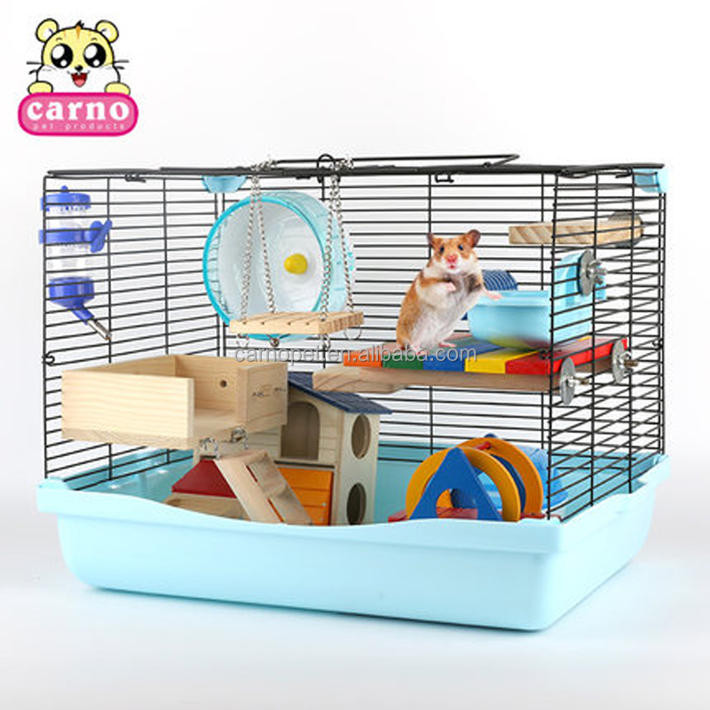 Carno Pets Animal Cage Hamster Cage Wire Mesh Cage for Small Animals