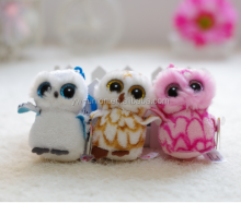 Assort colour stuffed owl toy , eagle stuffed toy
