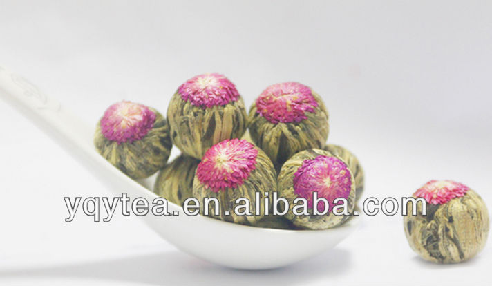 flower blooming tea, China Chinese tea jasmine green tea
