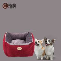 cat house,suede pet house ,wholesale dog bed