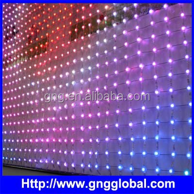 IP65 foldable led screen display ,programmable led curtain display