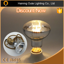 Shadowless lamp R80 2W,4W 6W 600lm CE RoHS E27 B22 Led Filament Bulb