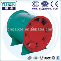Guangdong Manufacture Construction Building Hotel Fire Smoke Exhaust Axial Blower Ventilator Fan