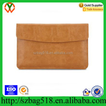 Fake Leather Laptop Sleeve Bag Computer Bag Briefcase Style Laptop Bag