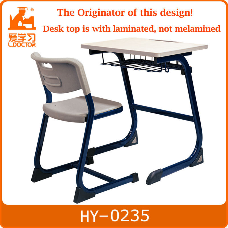 School desk and chair - old school desks for sale kids furniture HY-0235