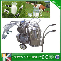 Easy operation small portable milking machine,portable goat milking machine
