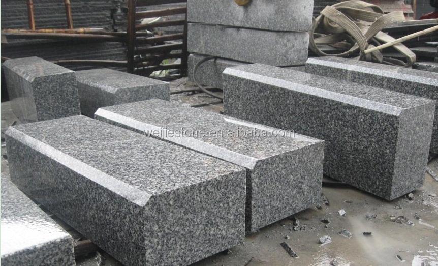 Barato gris blanco chino piso exterior pavimentaci n losa for Granito blanco chino