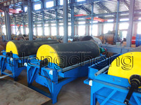 wet high efficiency magnetic separator for iron ore mining processing