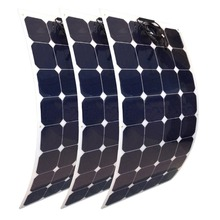 no anti dumping tax light weight sunpower 100w flexible thin film solar panel