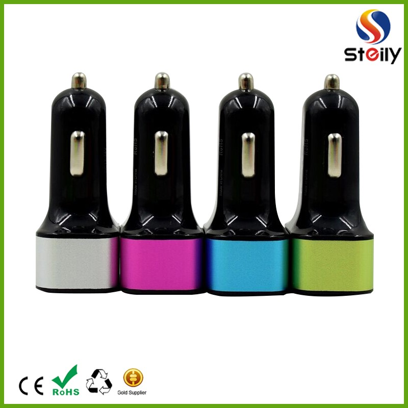 Quick Charge 5.2A 3 port Car charger