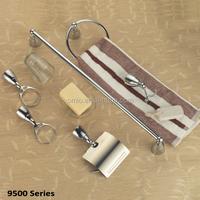 Bathroom accessories set elegant design for hotel bathroom