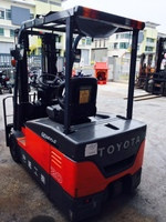 Toyota fully reconditioned 3 wheeler battery forklift 7FBE20