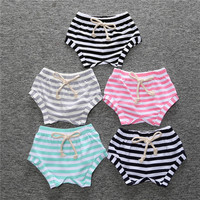 New Summer Girls Bread Pant Orangnic Cotton Baby Short Wholesale Kid Clothes