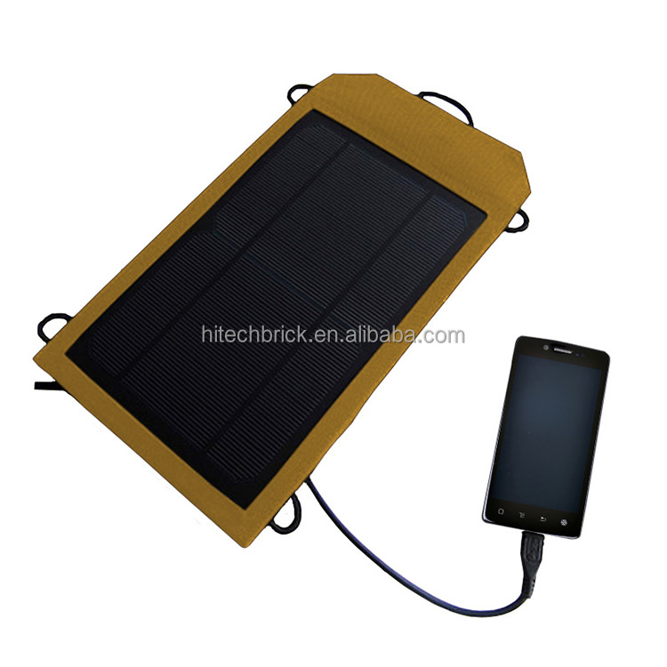 4W Portable Foldable Solar Charger Panel for iPhone 6 plus 5s 5c 5 4s 4, ipad mini, Samsung Galaxy S5 S4