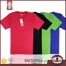 wholesale good price customized available new style t-shirt price in singapore