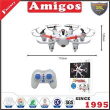 hot toy 2.4G RC 6 axis with 360 degrees 3 d flipping funny drone