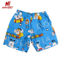 New style swimsuit cute beach shorts competitive boys swimming trunks for kids