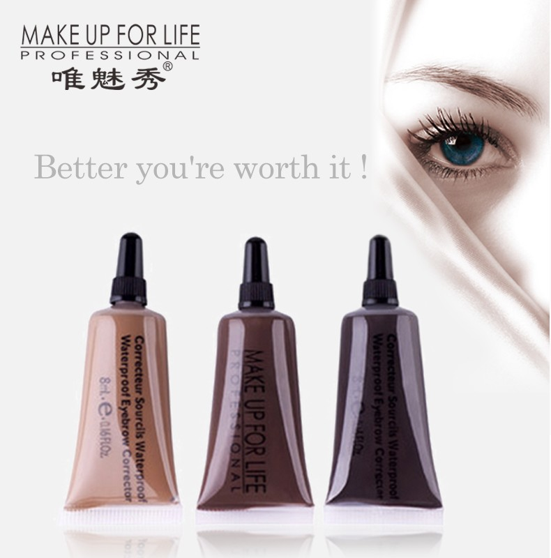 Waterproof Eyebrow Gel with Nice Colors for the Makeup