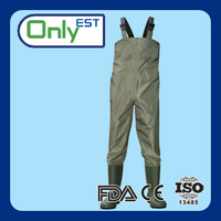 OEM available customized comfortable neoprene fly fishing waders