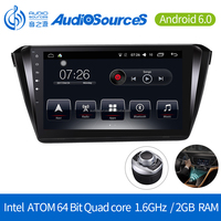 "Android 6.0 one Din Car multimedial Player 10"" full touch screen 1024*600 android car stereo"