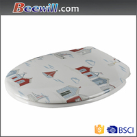 Beautiful design decorative cartoon toilet seat